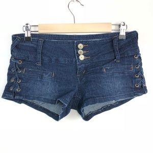 Almost Famous Jean Shorts Juniors Size 5